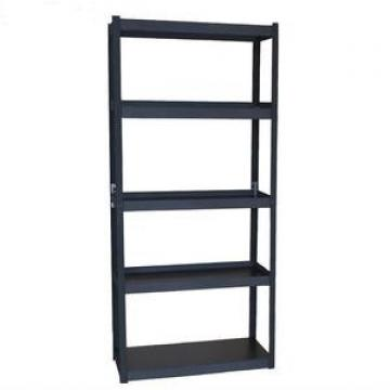 rust proof steel double side heavy duty goods display store shelving rack