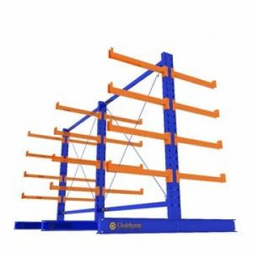 Heavy Duty Steel Pipe Warehouse Storage Cantilever Rack Rolls Materials