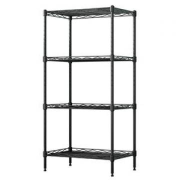 Industrial wire shelving chrome wire shelving