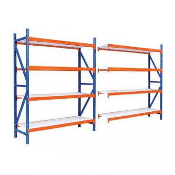 Blue 500kg capacity medium duty removable steel warehouse storage shelving stack racks