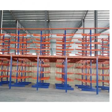 The Supermarket Equipment solid stainless steel shelving