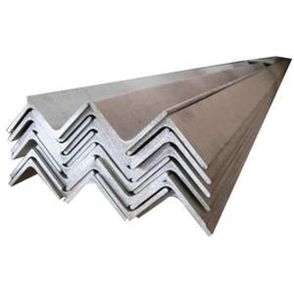 hot rolled carbon steel bar channel and angle iron ss400 q235 high quality hot rolled mild carbon angle steel #3 image