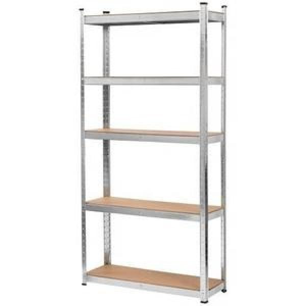 Heavy duty 6 tier wire shelving metal chrome adjustable grid shelving unit storage wire shelving rack #3 image
